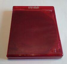 New 2 Pk Viva Elite HD DVD Red Clear Multi 5 Discs Case Box Holder 22mm W Flap