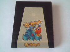 Qbert Parker Brothers Q bert 1983 Game Cartridge ATARI