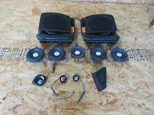 Harman Kardon Speaker Tweeter Bass Woofer Set BMW OEM F10 F11 F12 F13 F06