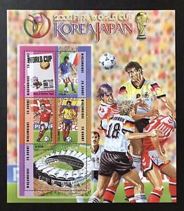 MOZAMBIQUE 2002 MNH SOCCER STAMPS SHEET FIFA WORLD CUP KOREA JAPAN PAOLO ROSSI
