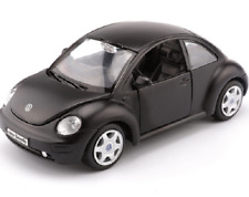 Maisto 1:25 Volkswagen NEW Beetle Black Diecast Model Racing Car Vehicle Toy NIB