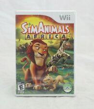 Sim Animals Africa Nintendo Wii Brand New Factory Sealed