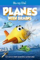 Planes with Brains (Blu-ray Disc, 2018) - BRAND NEW