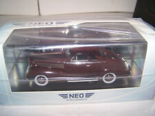 1937 LaSalle Series 50 Club Coupe NEO 1/43 Motor City American Excellence CHEAP