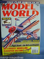 RCMW RC MODEL WORLD OCTOBER 2002 IN OUT SCOUT ABOUT PLAN JIM CHAMBERS & MIDGE