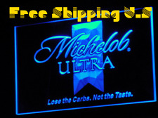 Michelob Ultra LED Neon Light Sign with 7 Colors