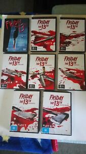 Friday the 13th...1 to 8 (Horror DVD)