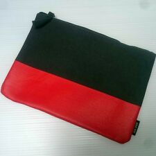 Qantas Airline First Business Class Travel Red Grey Jack Spade Amenity Bag