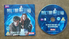 Doctor Who End of Time and Eleventh Hour  DVD  Released by The Sun Newspaper
