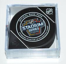 Pittsburgh Penguins Philadelphia Flyers 2019 Stadium Series OUTDOOR GAME PUCK