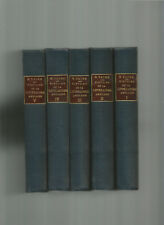 H.TAINE HISTOIRE DE LA LITTERATURE ANGLAISE HACHETTE COMPLET 5 VOLUMES 1911