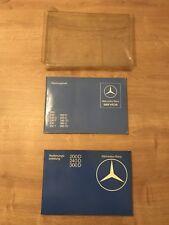 Mercedes W123 Bedienungsanleitung & Wartungsheft 200D - 300D