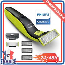 Rasoir Tondeuse à Barbe Étanche Sans Fil Rechargeable Philips OneBlade QP2520/30