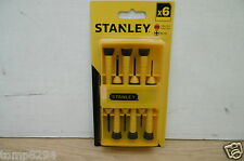 STANLEY 6PCE INSTRUMENT JEWELLERS SCREWDRIVER SET 0 66 052