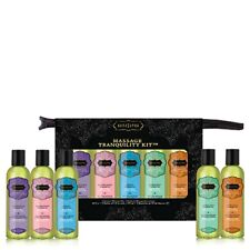 KAMA SUTRA AROMO MASSAGE OIL THERAPY TRANQUILITY KIT GIFT SET PACKAGE New