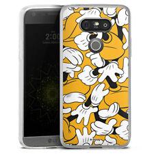 LG G5 Silikon Hülle Case - Mickey Mouse - Gloves