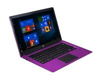 "Ematic EWT147PR 14.1"" HD x5-Z8300 1.44GHz 4GB RAM 32GB eMMC Win 10 Home Purple"