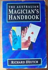The Australian Magician's Handbook, by Richard Deutch - 0340584564