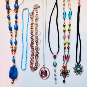 Vintage to Now Lot of 7 Variety Wearable Necklaces