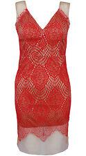 New Contrast Eyelash Lace Nude Mesh V Neck Bodycon Short Party Celebrity Dress
