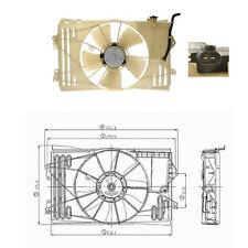 Dual Rad & Cond Fan Assembly Fits: 2003 - 2008 Toyota Corrolla / Matrix 1.8L