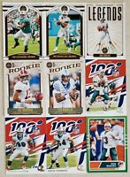 2020 Panini Legacy Miami Dolphins Team Set & 2019 Chronicles NFL 100 Cards