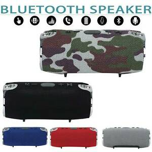 40W USB Portable Wireless Bluetooth Speaker V4.2 Stereo Bass Loud Rechargeable