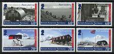 More details for brit antarctic bat stamps 2019 mnh port lockroy penguins exploration 6v set