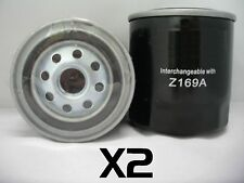 2x Fuel Filter Suit Z169A Isuzu ELF, Nissan Navara Patrol, Holden Rodeo Shuttle