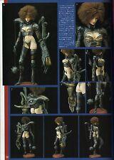 "Fewture Model: Creature Core  Nina Darkness 12"" Tall Unpainted Resin Model Kit"