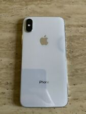 Apple iPhone X 64GB White & Silver AT&T - Used