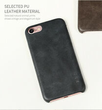 IPHONE 7 CASE - PU Leather Black Colour