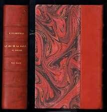 Le Jeu de la Carte au Bridge - Ely Culbertson - Albin Michel - 1935