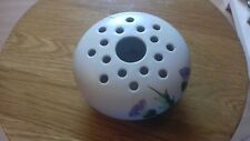 More details for frog display stems vase edward radford white hand painted thistle pattern no1019