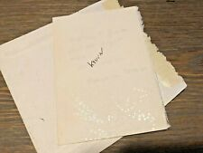 "BEATRICE WOOD ""Kevin"" handwritten note/envelope c94 from ""Dangerous Woman"" BEATO"
