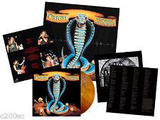 OMEN - WARNING OF DANGER, BROWN ORANGE MARBLED vinyl LP + POSTER, 300 COPIES!