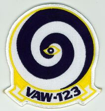 Vintage U.S. Navy VAW-123 Carrier Airborne Early Warning Squadron Patch