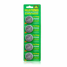 5pcs CR2450 2450 DL2450 ECR2450 Batteries LM2450 DL2450 Button Battery