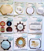 10 Embellishment Packs Making Memories Card Sentiments Lot NEW!