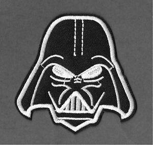 Darth Vader - Star Wars - Anakin Skywalker - Embroidered Iron On Applique Patch