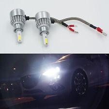H3 LED Headlight 36W3800LM Bulbs 6000K White CAR Fog Light Headlight COB C6