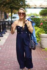 Halterneck Regular Floral Jumpsuits & Playsuits for Women