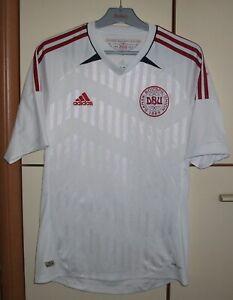 Denmark 2012 - 2013 Away football shirt jersey Adidas size S