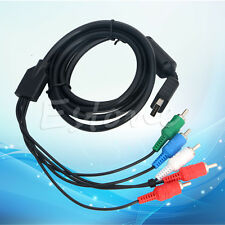 For SONY PS2 PS3 Playstation 1.8M HD AV TV Cord Component Cable Video-Audio