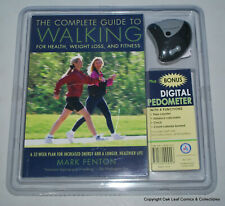 Mark Fenton Complete Guide to Walking for health & fitness + pedometer! Sealed!