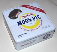 LIMITED EDITION 100th ANNIVERSARY MOON PIE TIN (1917-2017)  NEW!