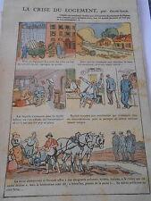 La Crise du Logement  Print 1928