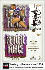 2001 Select NRL Impact Series Box Bonus Card BC6 Michael de vere-Broncos