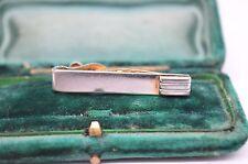 Vintage Silver tie clip in the art deco style #T378