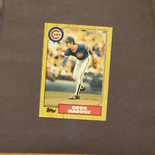 Greg Maddux 1987 Topps Traded Rookie Card #70T - CUBS  MINT